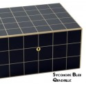 """Elie Bleu - """"Classic"""" box in ebony for 8 watches and 20 cufflinks"""