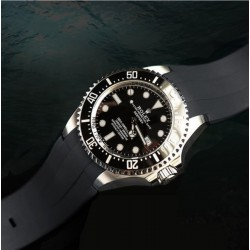 RubberB M207 strap Black with buckle for DSSD 126660