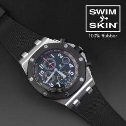 Rubber B strap Sailcloth SwimSkin APC42 Black