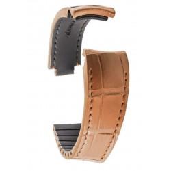 R-Strap - Alligator strap for Rolex - Light brown