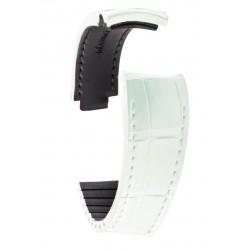 R-Strap - Alligator strap for Rolex - Pearl white