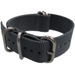 Grey NATO Zulu Extreme watch strap