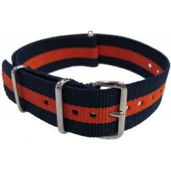 Watch NATO strap Blue/Orange