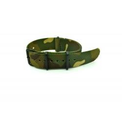 Watch NATO strap camo Black buckles