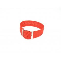 Watch perlon strap orange