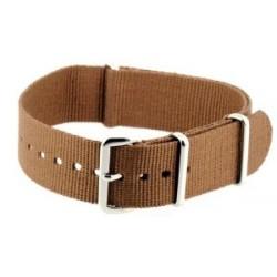 Brown NATO watch strap