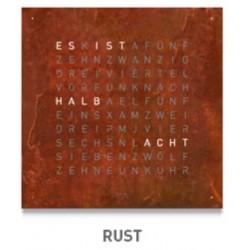 QLOCKTWO LARGE Rust