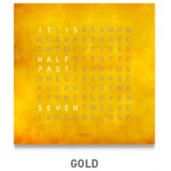 QLOCKTWO LARGE Gold