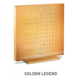 QLOCKTWO TOUCH Golden Legend