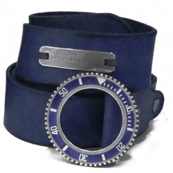 Speedometer Official Blue leather Belt