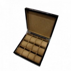 KronoKeeper Macassar Ebony 12 Watch Box
