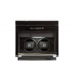 Paul Design - Gentleman 2+3 Watch Winder & Extra storage for 3 watches