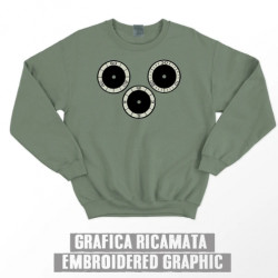 CHRONOGRAPH SWEATSHIRT - Olive green