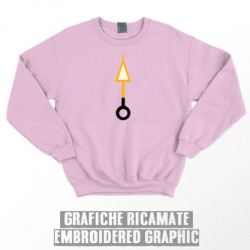 ORANGE ARROW SWEATSHIRT - Pink