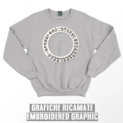 DATE WHEEL SWEATSHIRT - Grey