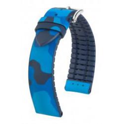 John Hirsch Watch Strap Blue/Blue