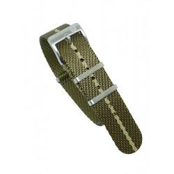 Premium NATO strap - Olive/Khaki