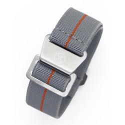 Parachute strap - Grey/Orange