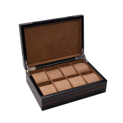 KronoKeeper Macassar Ebony 8 Watch Box