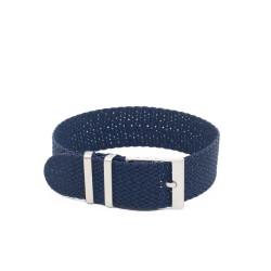 Kronokeeper Perlon strap Blue