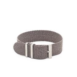 Kronokeeper Perlon Strap - Light Grey