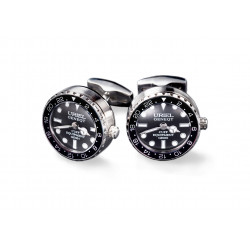 UG GMT Cufflinks - Black