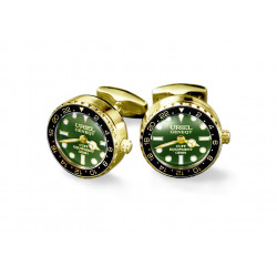 UG GMT Cufflinks - Green