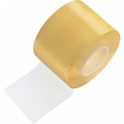 Protective plastic cling wrap for bracelets