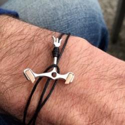 KronomarK «Pallet fork» bracelet in 18K gold