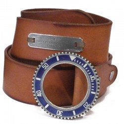 Speedometer Official Cognac Leather Belt