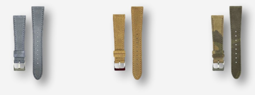 Vintage calf watch straps